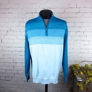 NWT Callaway mens Thermolite quarter zip sweater